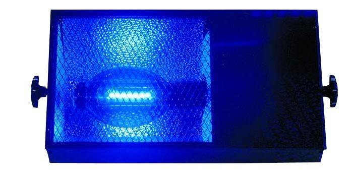 neu uv lampe schwarzlicht licht schwarzes licht eurolite black floodlight 400w ebay. Black Bedroom Furniture Sets. Home Design Ideas