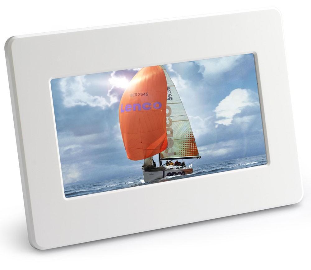 fotowand bilderrahmen foto 17 8 cm digitaler fotorahmen ebay. Black Bedroom Furniture Sets. Home Design Ideas