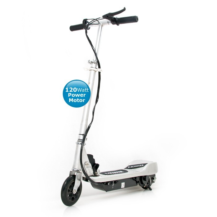 kinder elektro roller e scooter kickboard silber zy07c ebay. Black Bedroom Furniture Sets. Home Design Ideas