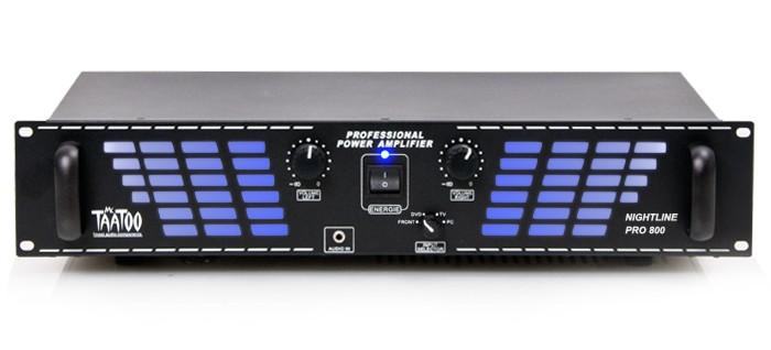 NEU-2400-Watt-DJ-PA-Party-Disco-VERSTARKER-AUX-Eingang-fuer-MP3-ENDSTUFE-Pro800bl