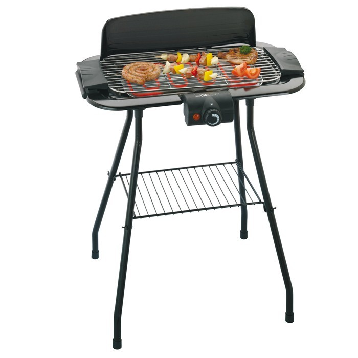 barbecue bbq stand grill elektrischer standgrill. Black Bedroom Furniture Sets. Home Design Ideas