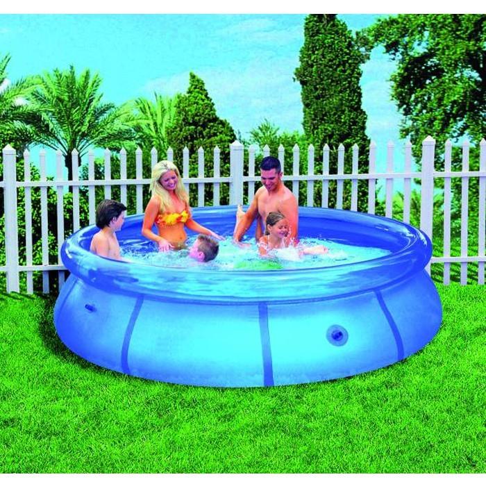 Swimming pool garden wading pool round water basin ebay for Garden swimming pool ebay