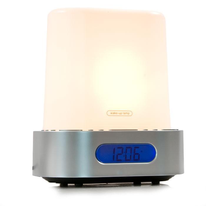luxus radiowecker wellnesswecker licht nachttischlicht eur 26 85 picclick de. Black Bedroom Furniture Sets. Home Design Ideas
