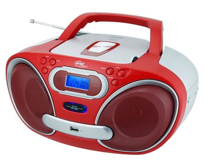 kinder radio radiorecorder cd player mp3 usb elta 6692r ebay. Black Bedroom Furniture Sets. Home Design Ideas
