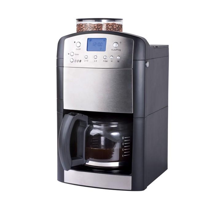 1000 w luxus kaffeemaschine kaffeeautomat mit mahlwerk ebay. Black Bedroom Furniture Sets. Home Design Ideas