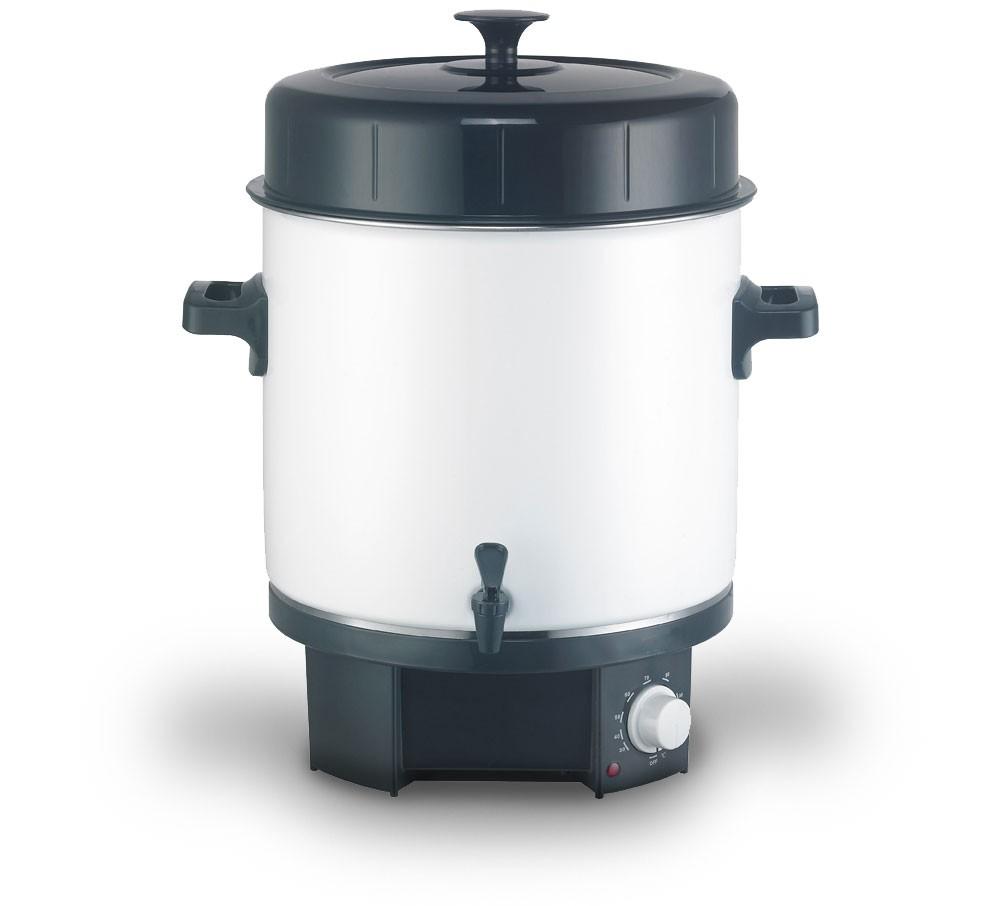 1800-Watt-Einkocher-25-L-Einkochtopf-Warmhaltetopf-Gluehweintopf-Gluehweinbehaelter