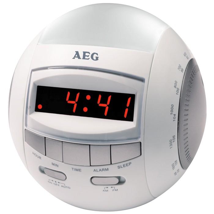 clock radio alarm clock radio fm mf radio led display. Black Bedroom Furniture Sets. Home Design Ideas