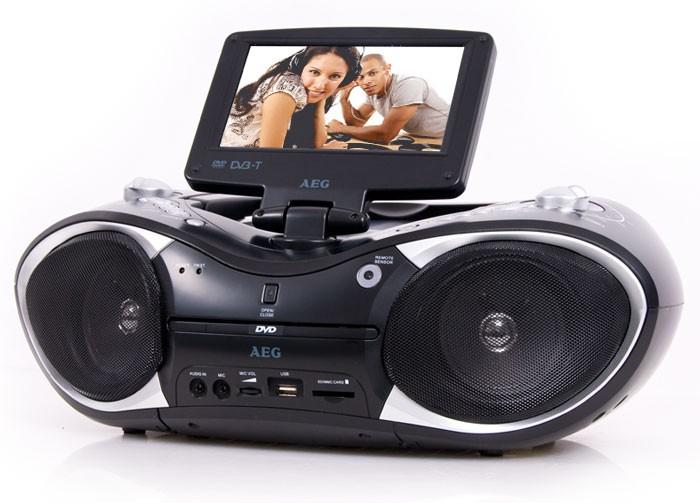 Ghettoblaster display cd mp3 dvd radio karaokefunktion ebay for Unterschrank radio mit cd