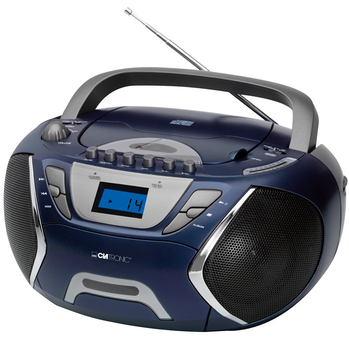 neu tragbarer kinder jugend cd player cd radio mp3 aux ebay. Black Bedroom Furniture Sets. Home Design Ideas