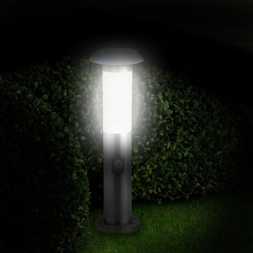 gartenleuchte solarlampe edelstahl au enleuchte zylinder. Black Bedroom Furniture Sets. Home Design Ideas
