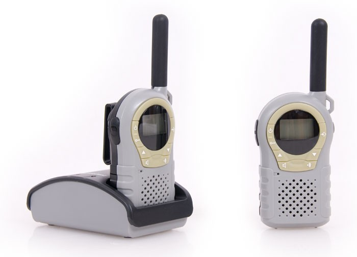 pmr funkger t babyphone walkie talkie rocktrail grau ebay. Black Bedroom Furniture Sets. Home Design Ideas