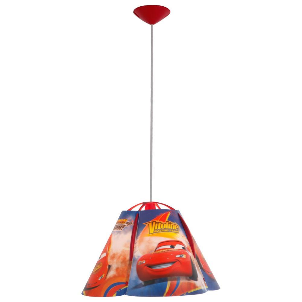 Kinderzimmer deckenleuchte cars lightning mcqueen lampe ebay for Cars deckenlampe