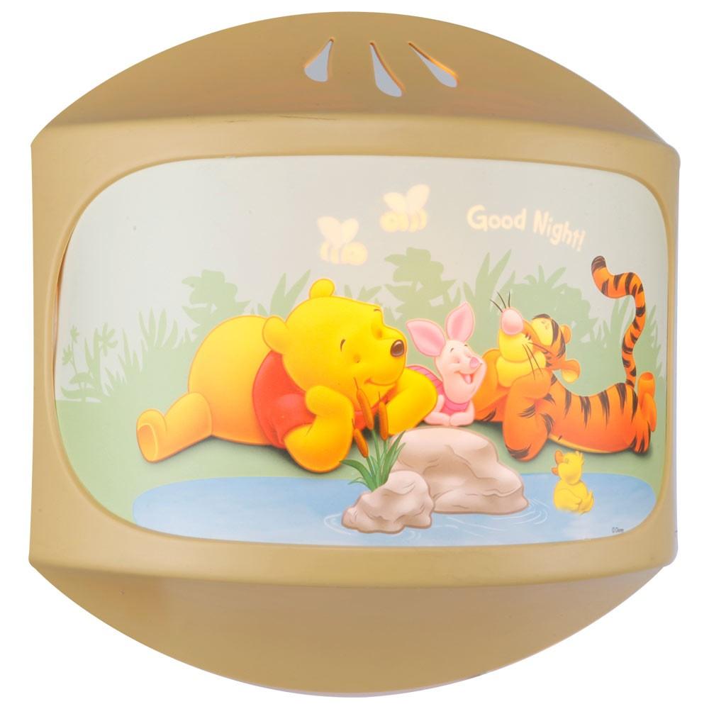 kinderzimmer kinder nachtlicht wandleuchte winnie pooh ebay. Black Bedroom Furniture Sets. Home Design Ideas