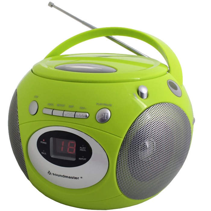 grüner design kinder radiorecorder cd-player boombox | ebay