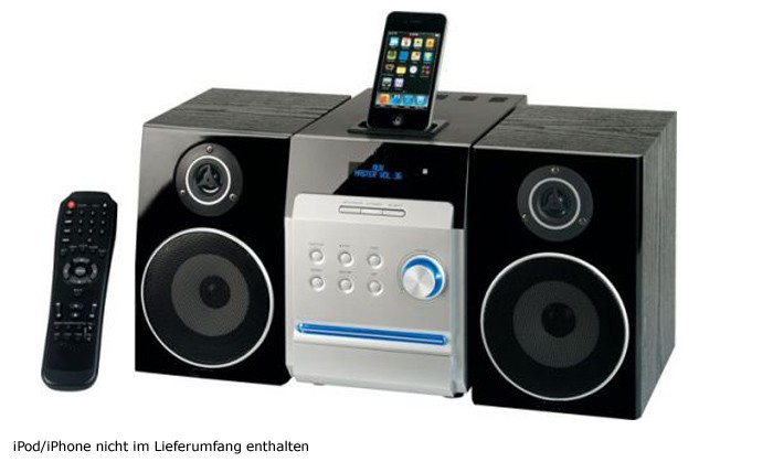 ipod iphone docking station cd mp3 dvd player radio usb ebay. Black Bedroom Furniture Sets. Home Design Ideas