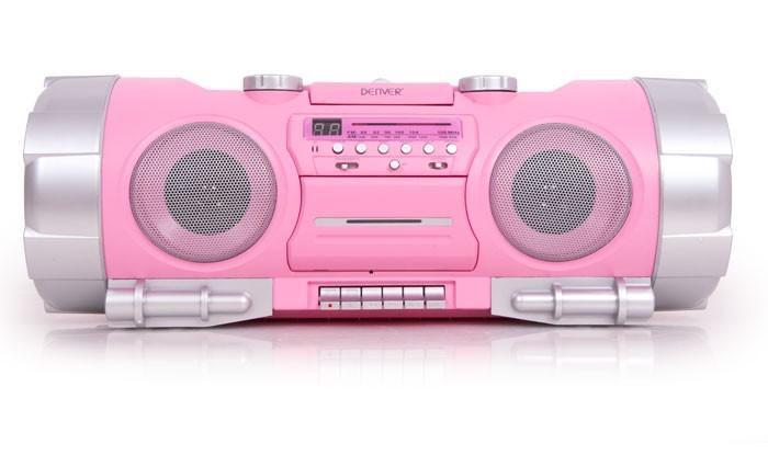 stereoanlage boomblaster kinder ghettoblaster cd player mikrofon radio tuner ebay. Black Bedroom Furniture Sets. Home Design Ideas