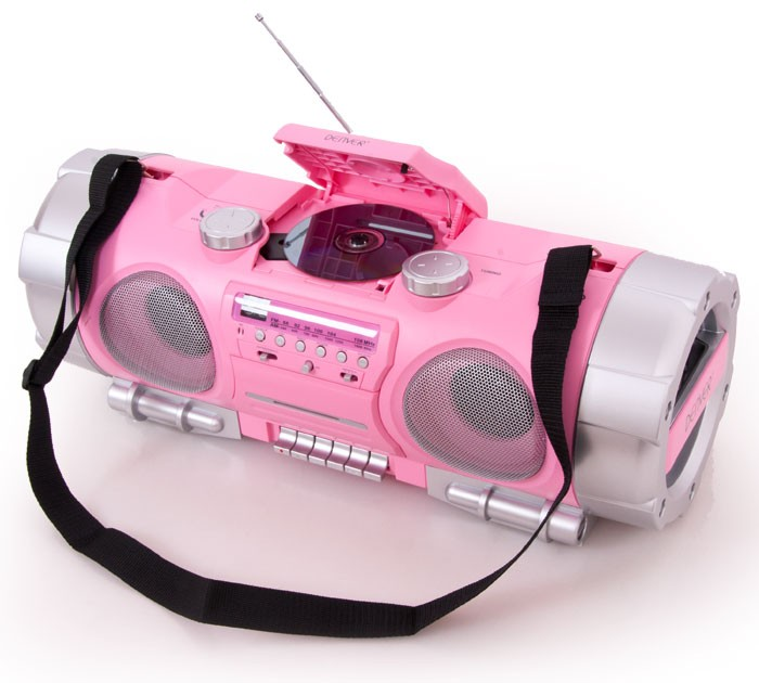 stereoanlage cd player mikrofon boombox musikplayer. Black Bedroom Furniture Sets. Home Design Ideas