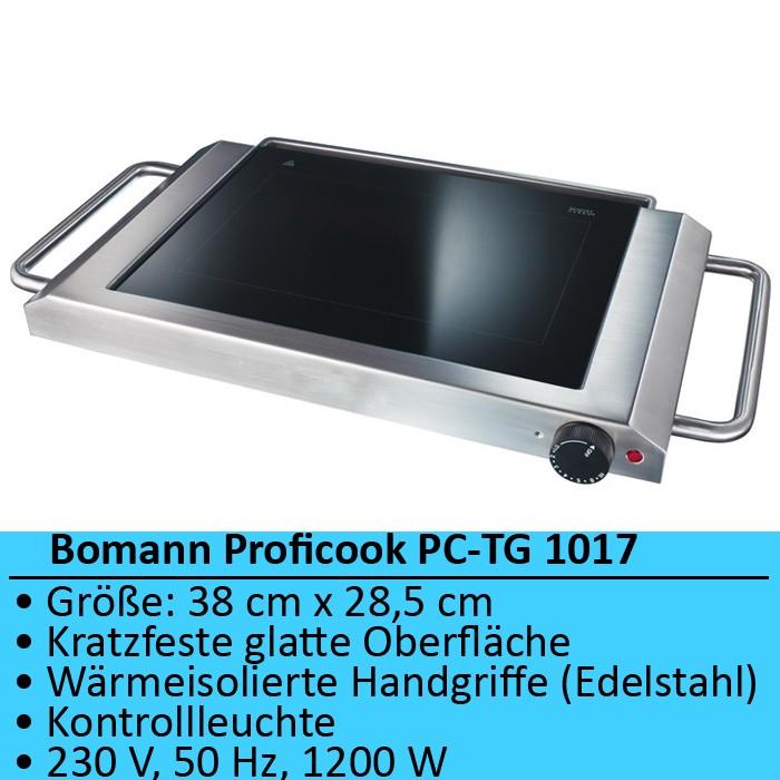 Luxus design elektrogrill tischgrill elektro ceran for Tischgrill design