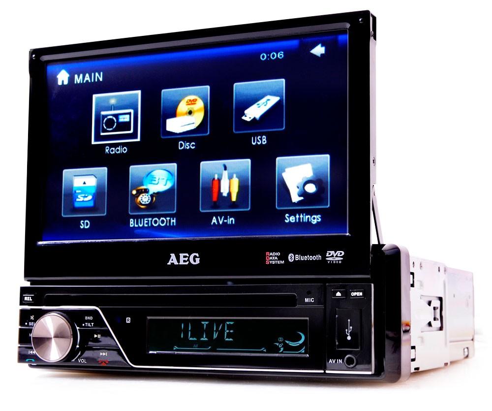 autorradio dvd player mp3 usb bluetooth pantalla t ctil 7. Black Bedroom Furniture Sets. Home Design Ideas