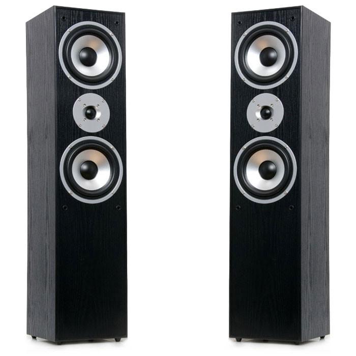 stand lautsprecher boxen 1000 watt 2 wege schwarz aeg lb. Black Bedroom Furniture Sets. Home Design Ideas