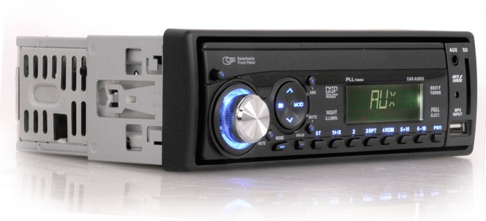 Autoradio-MP3-AUX-Eingang-High-Speed-USB-SD-Card-RDS-10cm-Car-Hifi-Auto-Radio