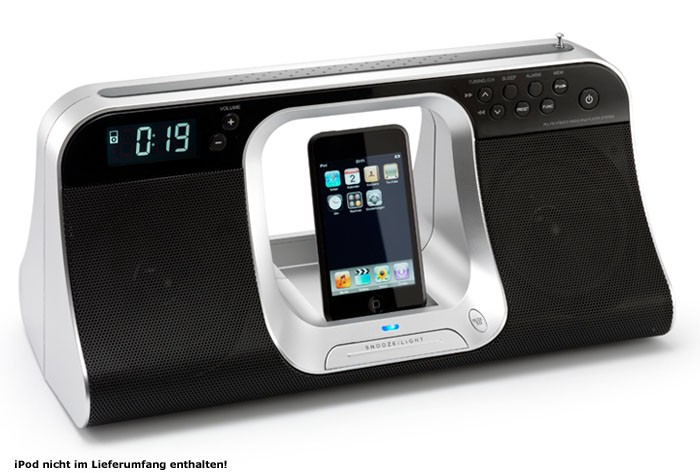 radio r veil ipod docking cradle station lenco ipd 5100 ebay. Black Bedroom Furniture Sets. Home Design Ideas