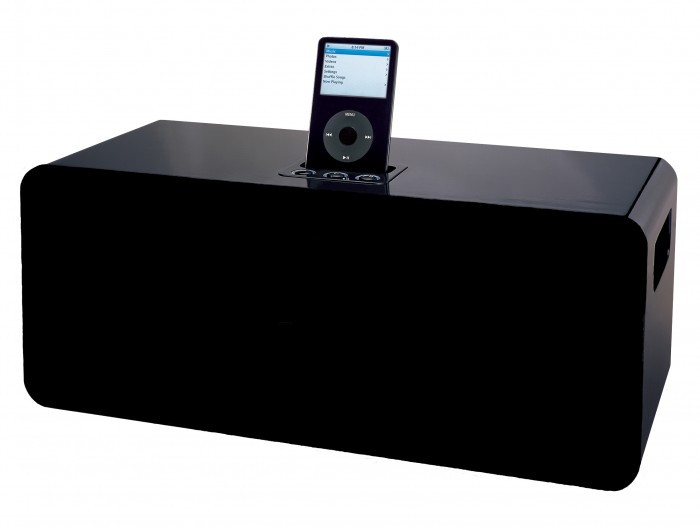ipod iphone dockingstation lautsprecher audioanlage. Black Bedroom Furniture Sets. Home Design Ideas