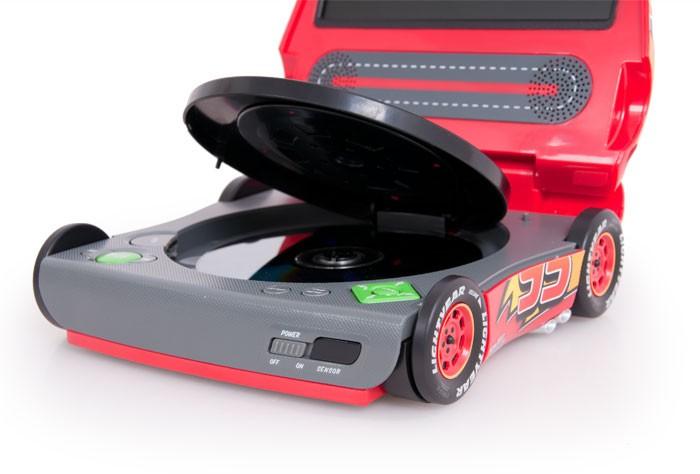 portable dvd player disney cars kinder jungen jungs auto reise lcd display kfz ebay. Black Bedroom Furniture Sets. Home Design Ideas