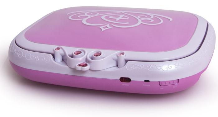 mobiler kinder cd dvd player rosa 17 5cm 7 lcd display disney prinzessin pink ebay. Black Bedroom Furniture Sets. Home Design Ideas