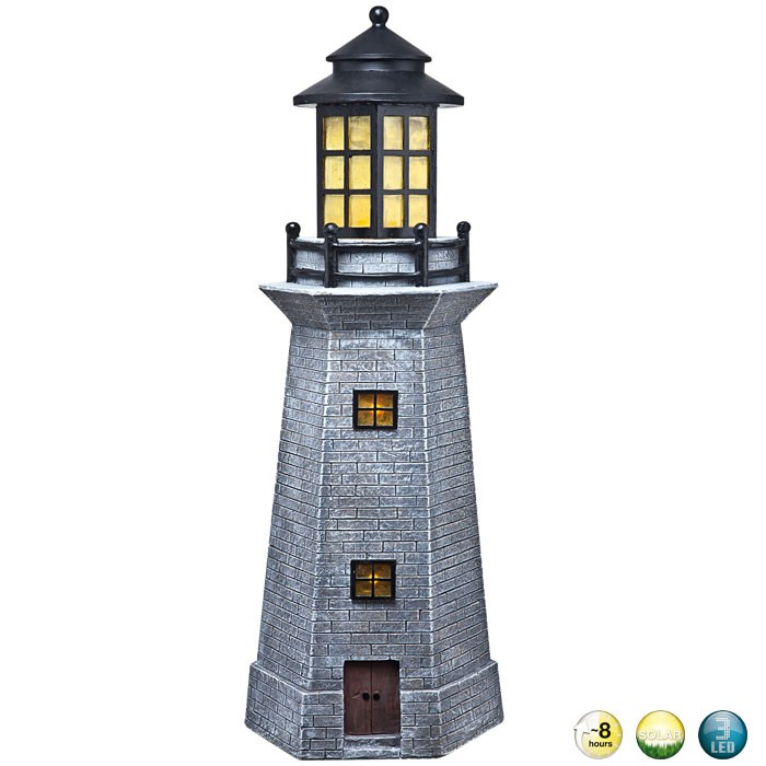 Solar outdoor lamp led beacon lighting outdoor light for Luminaire outdoor