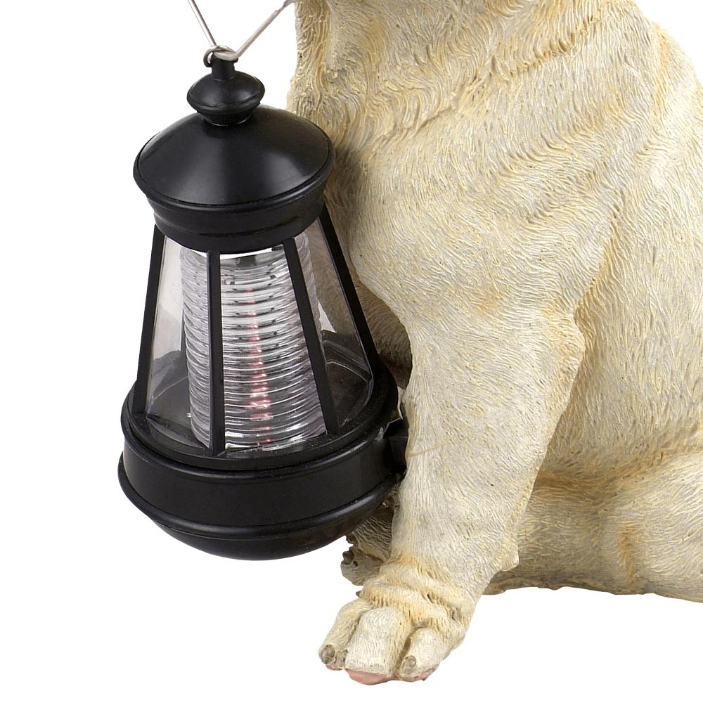 garten solar led lampe au enleuchte hund figur gartenlampe leuchte gartenlicht ebay. Black Bedroom Furniture Sets. Home Design Ideas