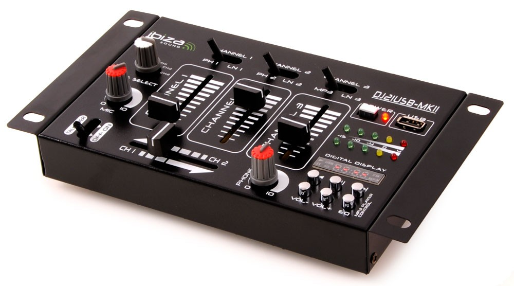 DJ-Mixer-4-Kanal-PA-Party-Disco-Stereo-Mischpult-USB-MP3-Ibiza-Sound-DJ-21USB
