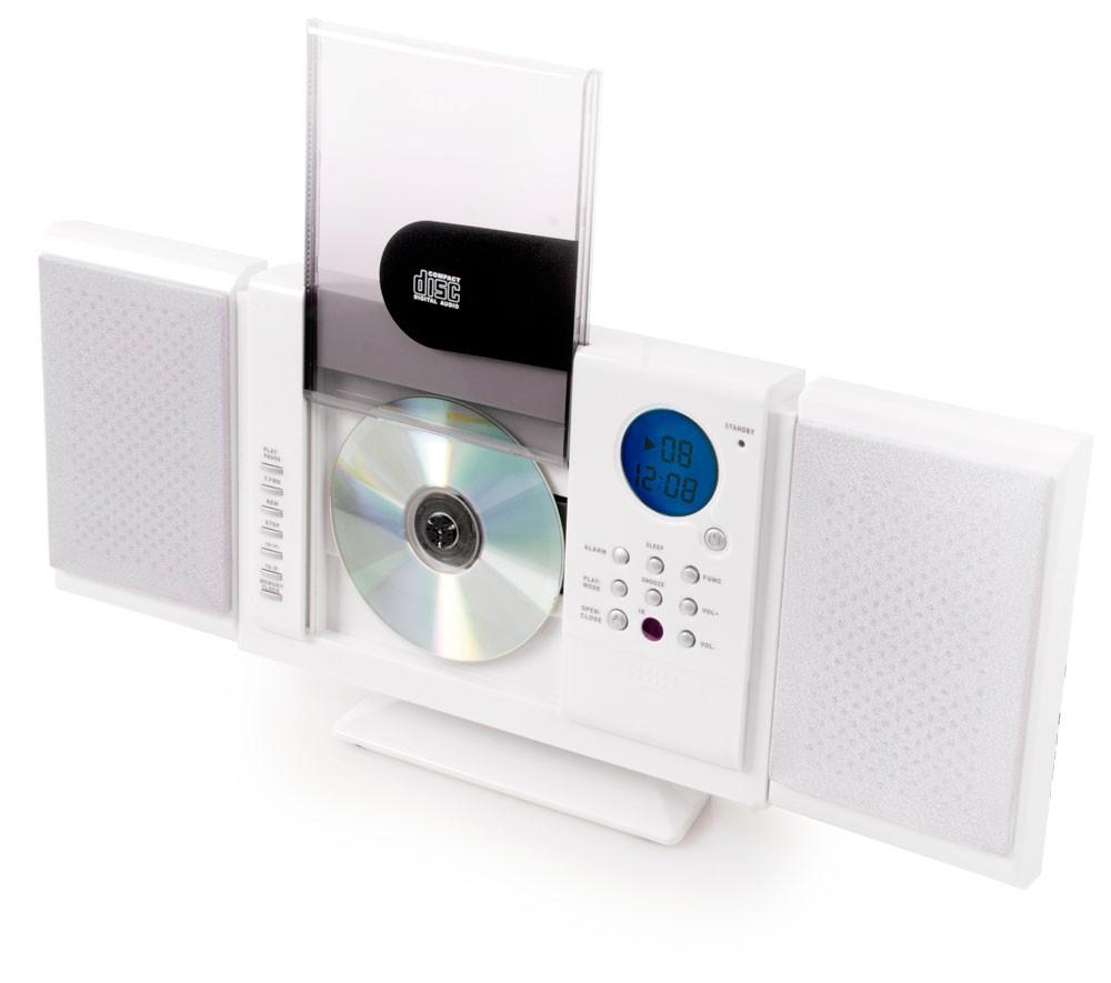kompaktanlage cd player ghettoblaster stereoanlage aux usb. Black Bedroom Furniture Sets. Home Design Ideas