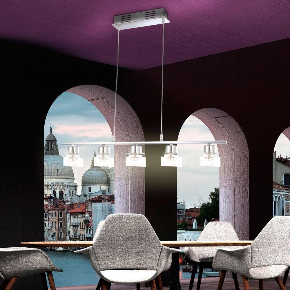 LED-Deckenleuchte-Blau-Haengeleuchter-Pendelleuchte-Deckenlampe-Lampe-Leuchte-NEU