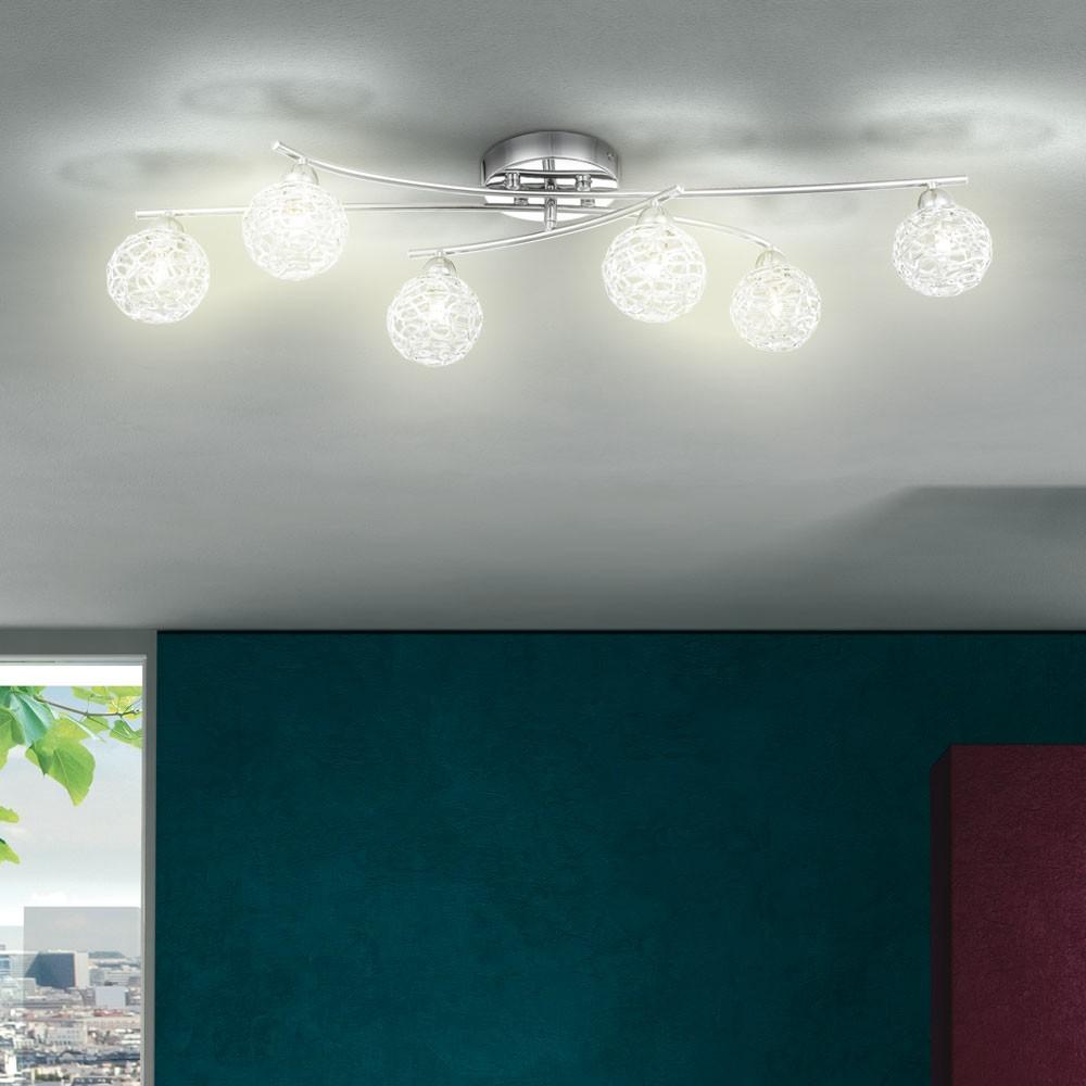 deckenleuchte deckenlampe chromleuchte wohnzimmerlampe