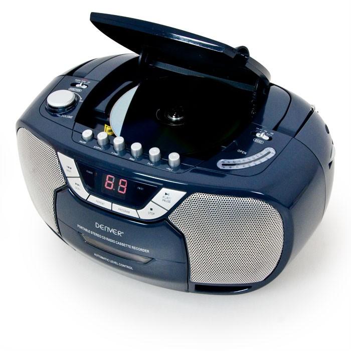 klassischer radiorekorder cd player tragbar kassette tuner. Black Bedroom Furniture Sets. Home Design Ideas