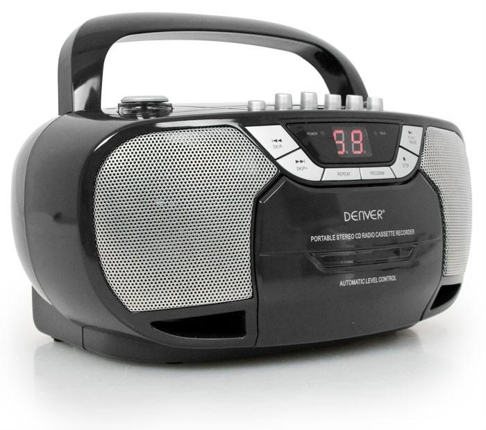 klassischer radiorekorder cd player tragbar kassette radio. Black Bedroom Furniture Sets. Home Design Ideas