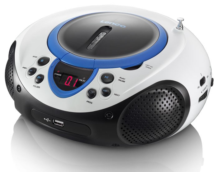 neu cd player spieler kinderzimmer radio tuner mp3 usb aux led