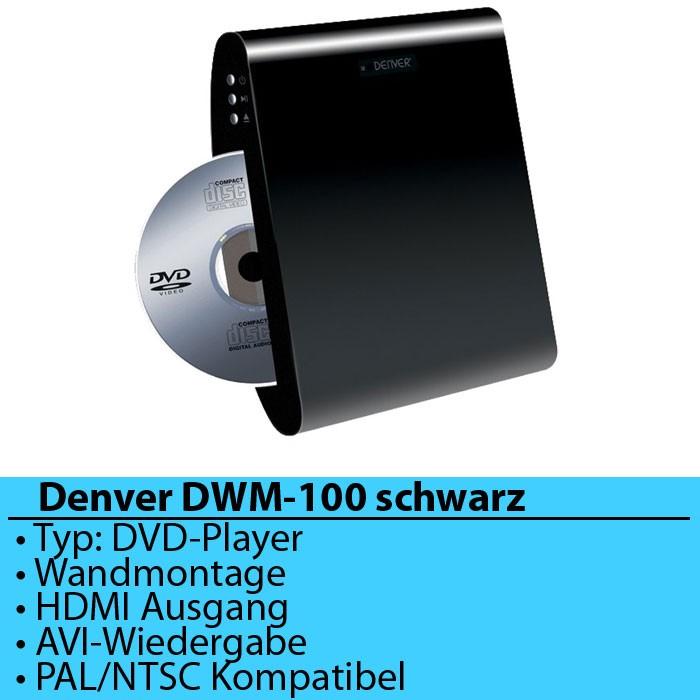 denver dwm 100 dvd player ebay. Black Bedroom Furniture Sets. Home Design Ideas