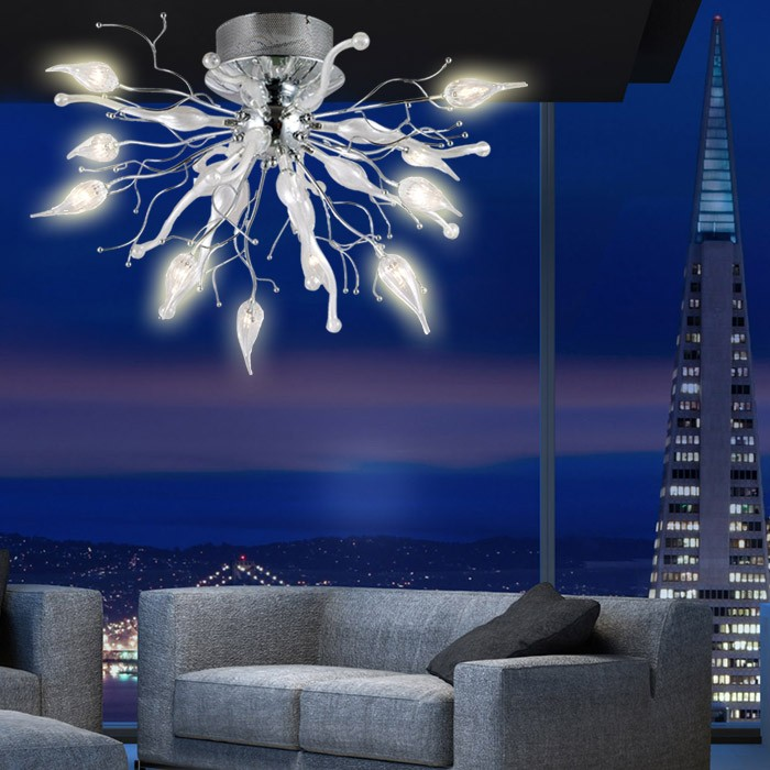 Emejing Lampe Wohnzimmer Led Contemporary   House Design Ideas