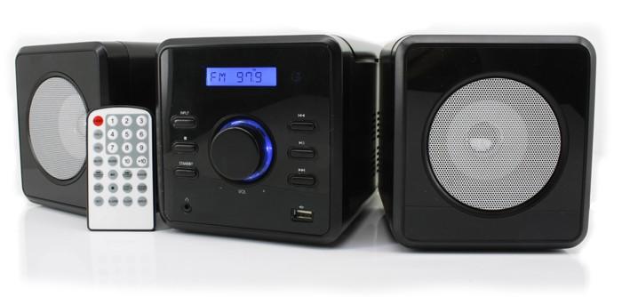 kompakt kinder musikcenter hifi midi stereoanlage usb mp3 pll ukw radio wecker ebay. Black Bedroom Furniture Sets. Home Design Ideas