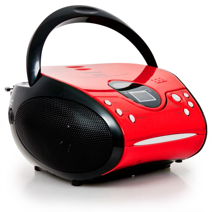 top cd player boombox spieler kinder stereoanlage ukw fm. Black Bedroom Furniture Sets. Home Design Ideas