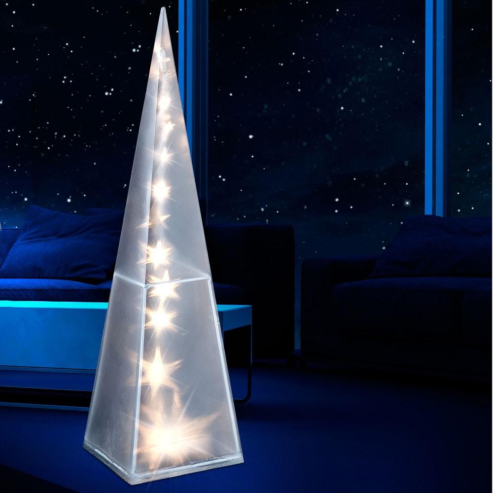 led leuchtpyramide lichtpyramide licht leuchte pyramide. Black Bedroom Furniture Sets. Home Design Ideas