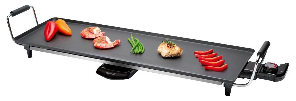 profi elektrogrill 70cm teppan yaki grill tischgrill grill tisch elektro bbq ebay. Black Bedroom Furniture Sets. Home Design Ideas