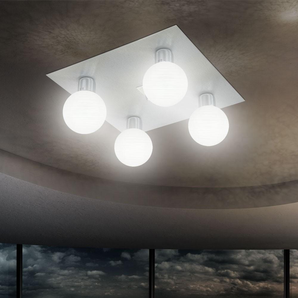 deckenleuchte deckenlampe 4 flammig wohnzimmer esszimmer