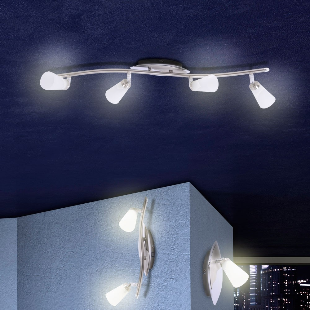 Lampe applique plafonnier spot salle manger salon - Lamparas para el salon ...
