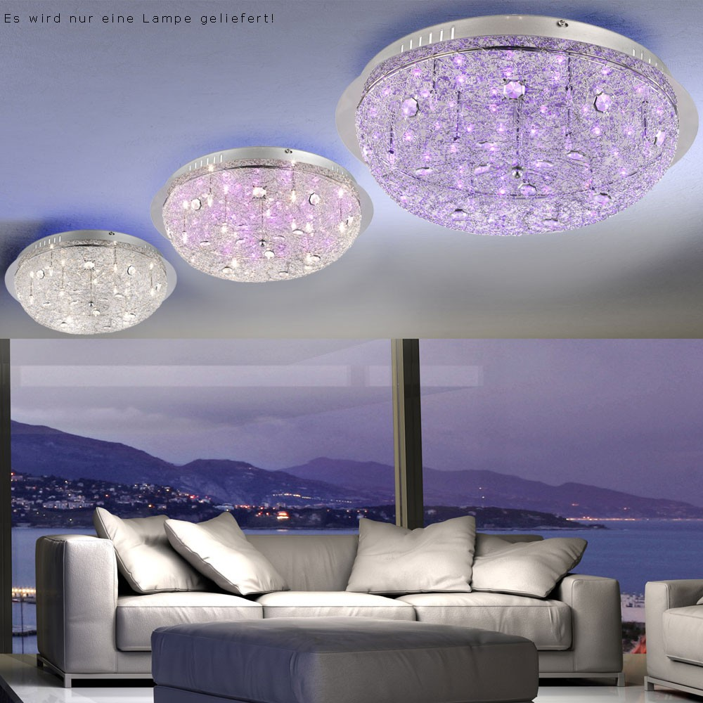 kristall deckenleuchte led bad lampe flur decken licht esszimmer wand leuchte fb ebay. Black Bedroom Furniture Sets. Home Design Ideas