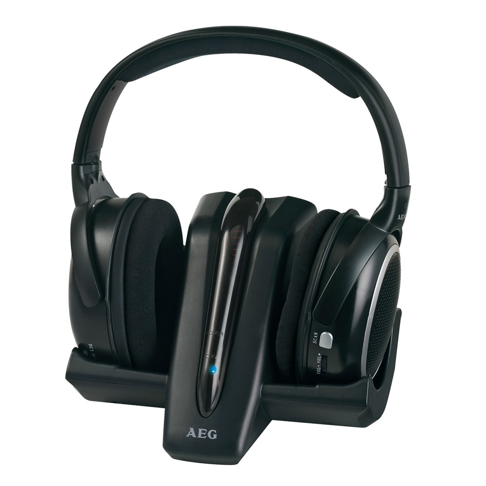Wireless Stereo Headphones Headphone System With Charging