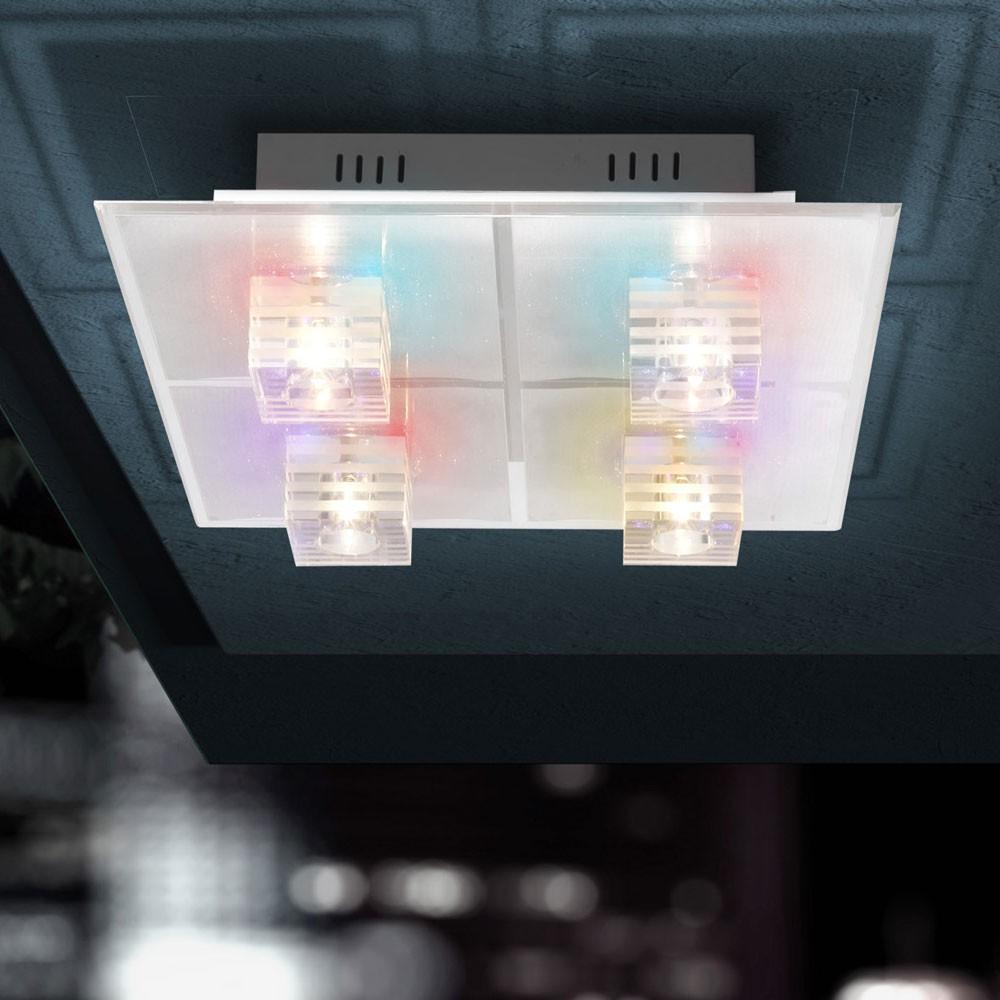 Bueroleuchte Deckenlampe Wohnzimmerlampe Schlafzimmerlampe Bunte LEDs