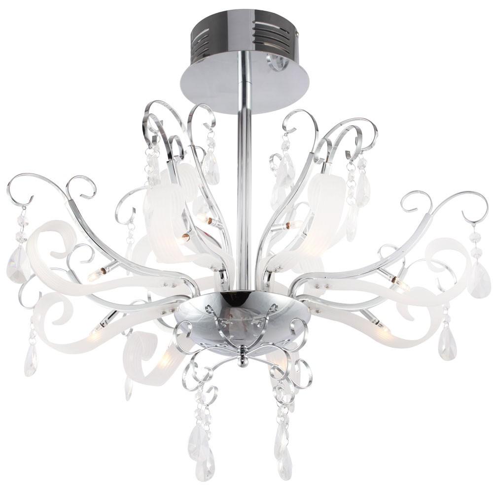 Design wohnzimmer kronleuchter chrom kristall h ngelampe for Kronleuchter chrom kristall